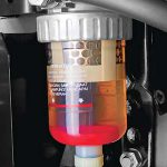 Transparant Water Separator