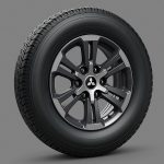 17 Inchi Alloy Wheels (Exceed)